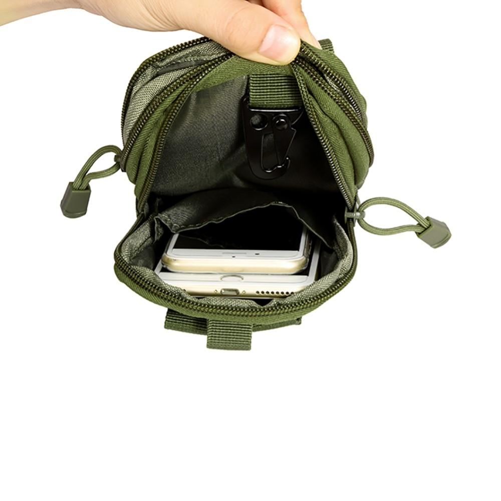 Пишет прибытие тактический молл чехол ремня сумка талии обновления малый карманный талии Фанни пакета телефон карман бедра пояс мешок