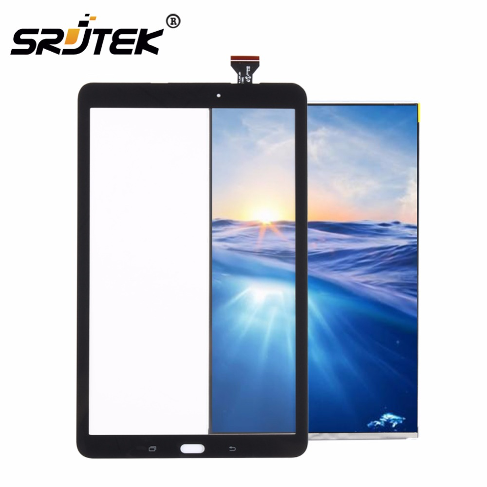 все цены на Srjtek T560 LCD Touch Panel For Samsung Galaxy Tab E SM-T560 T560 T561 LCD Display With Touch Screen Panel Digitizer Assembly онлайн