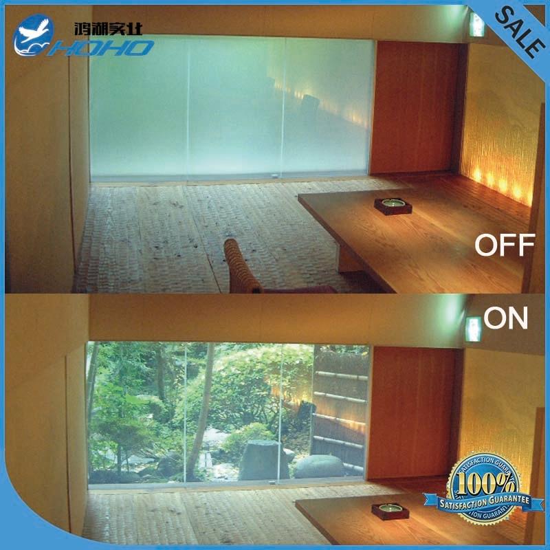 Personnaliser Smart Pdlc film pour Fenêtre en verre décoration Commutable smart film Magique fenêtre de la vie privée film