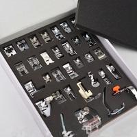 Refinement 32pcs/set Sewing Machine Presser Foot Braiding Blind Stitch Darning Presser Feet Kit Set for Brother Singer Janome