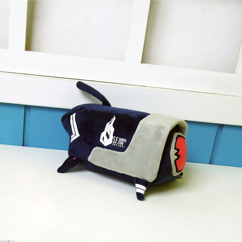 Girls Frontline Plush Toy Cosplay Dog Plush Doll Dinergate Boy Girls Halloween Gifts Costume Props