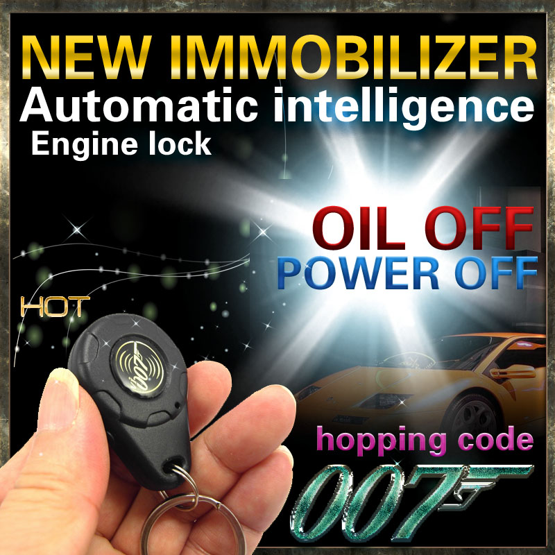Car Immobilizer Power Off Oil Off 2 Way Stage Anti Theft Relay Anti Theft Electronic Concealed