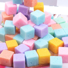 10Pcs Square Candy Polymer Slime Charms Toy For Children Modeling Clay DIY Accessories Kids Plasticine