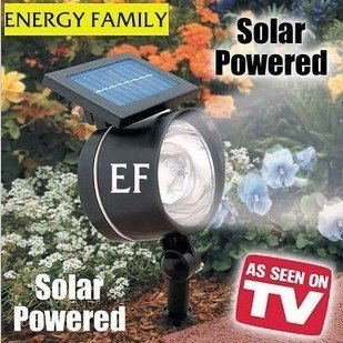 Wholesale Solar lawn lamp high brightness light 4LED solar spotlight solar lawn light