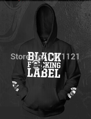 Free shipping BLACK LABEL SOCIETY ROCK METAL SKULL NEW SWEAT BFL PULLOVER font b HOODIE b