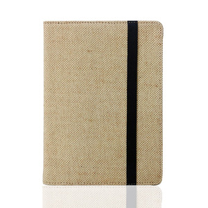 Image 4 - Natural Flax Case For Kindle 4 5 6 7 8 Touch Paperwhite eReader Hemp Cover Protective Holster pouch Linen Case with hand holder