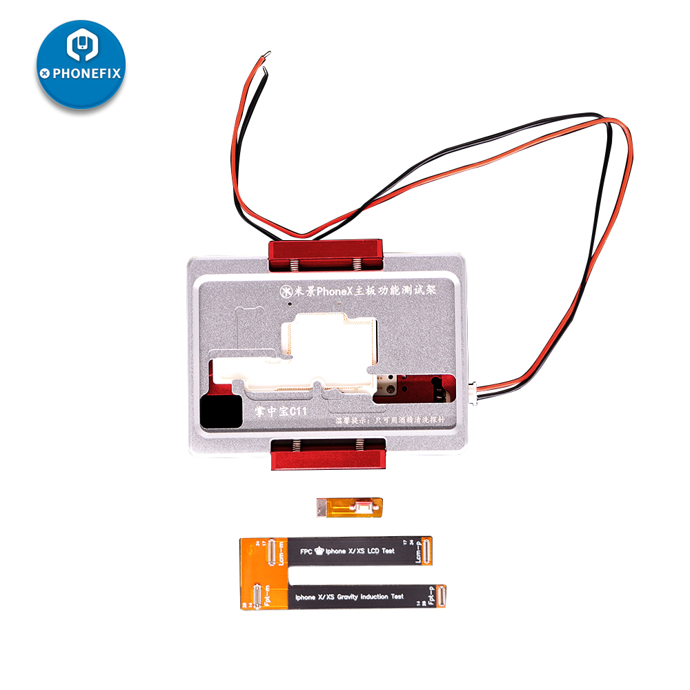 MJ C13 C11 iSocket jig Double Layers Logic Board Test Fixture For IPhone X XS MAX motherboard BGA Soldering disassemble Repai - 2