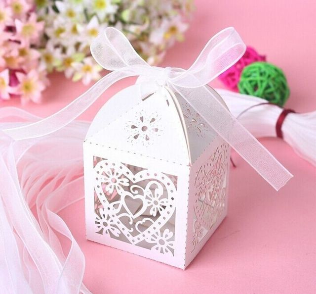 100pcs love heart laser cut candy gift boxes wedding party favor box 100pcs love heart laser cut candy gift boxes wedding party favor boxcupcake wrappers ribbon solutioingenieria Images