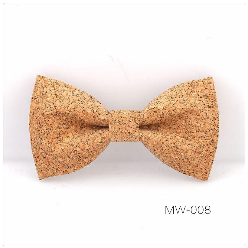 New Handmade Wooden Cork Bamboo Bow Tie Bowtie Men's Cravat 53