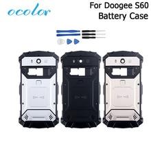Ocolor Для Doogee S60 S60 Lite аккумулятор чехол батарея задняя крышка чехол Замена 5,2 дюймов Для Doogee S60 + рамка для камеры + Инструменты