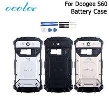 Ocolor doogee S60 S60 liteのバッテリーケースbateriaバックケースカバー交換5.2インチdoogee S60 + カメラフレーム + ツール