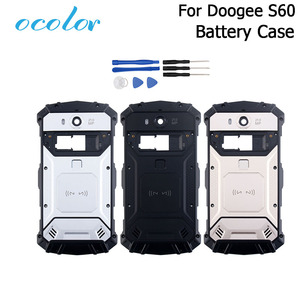 Image 1 - ocolor For Doogee S60 S60 Lite Battery Case Bateria Back Case Cover Replacement 5.2 inch For Doogee S60 + Camera frame +Tools