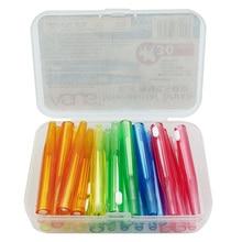RORASA 30 pcs Benang Gigi Push-Tarik Interdental Brushes 0.6-1.5mm Gum Slim Lembut Gigi Pilih Pembersih Interdental Oral alat