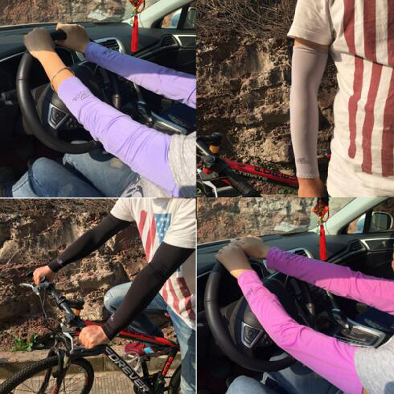 Tcare Outdoor Sunscreen Breathable Sleeves Car Bike Motorcycle Sunscreen Sleeve for Women Men Youth Cycling Walking Sport