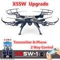 X5SW X5SW-1 FPV Drone X5C Actualización WiFi Cámara de Vídeo En Tiempo Real RC Quadcopter Quadrocopter 2.4G 6-Axis Vs MJX X101 X600 X8W X8HW