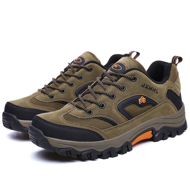 Men's hiking shoes high quality sneakers men breathable outdoor shoes hunting trekking tourism hiking timber land shoes men