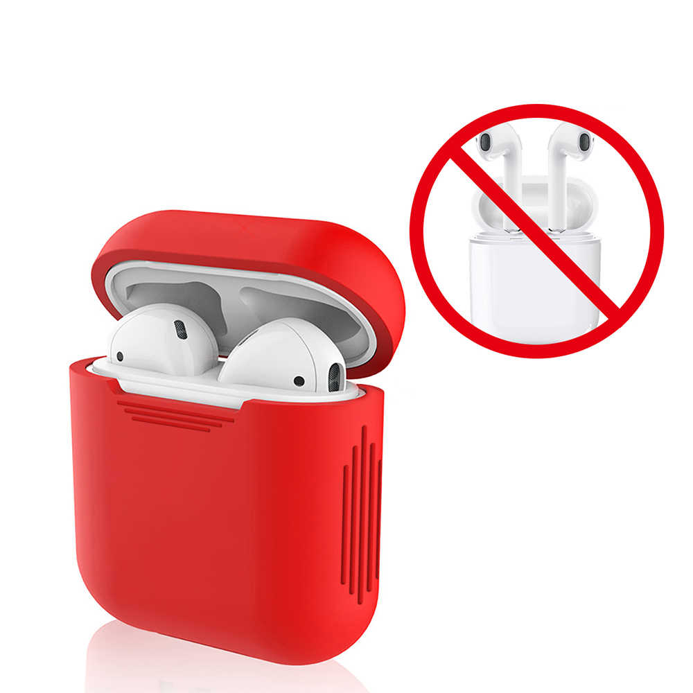 Soft Silicone Case For Apple Airpods Shockproof Cover For Air Pods Earphone Cases Ultra Thin i12 TWS  i10 i11 i7 Protector Case