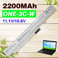 2200mAh WHITE BATTERY for Acer UM08B52 UM08B71 UM08B72 UM08B73 UM08B74 for Gateway UM08A73  Aspire One A110  A150 D150  D250