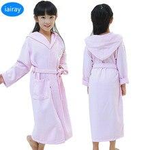 spring autumn girls bathrobe children's bathrobes kids pajamas for boys bath robe rabbit hooded towel poncho pink robes roupao  стоимость