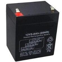12V 5Ah свинцово-кислотный аккумулятор. UPS источник бесперебойного питания
