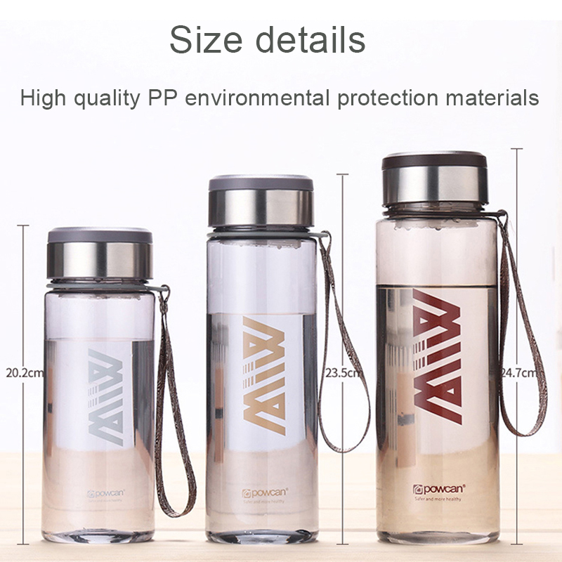 Outdoor Motion High Quality PP 304 Plastic High Capacity 1000ML Thermos Mug Cap Coffee Tea Food Bottle Swig Wine Cups Portable in Water Bottles from Home Garden