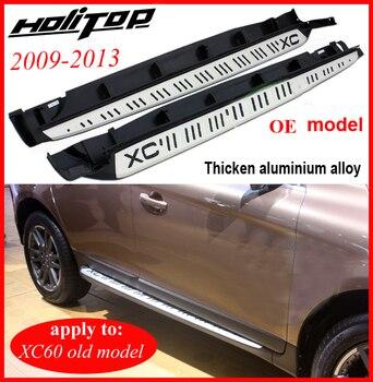 Thicken running board 사이드 스텝 nerf bar for volvo old xc60 2009 210 211 2012 2013, 품질 보증, 구매 안심