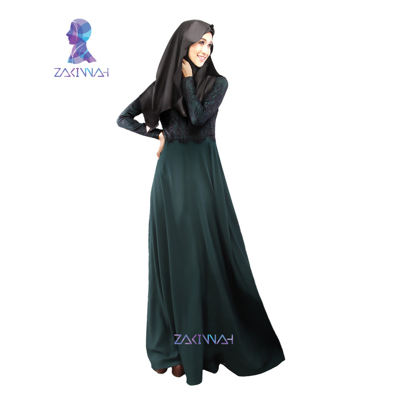 MD 022 New arrival ladies noble islamic dress daewoo nexia lace decorate abaya daewoo nexia winter thicken hemp daewoo nexia