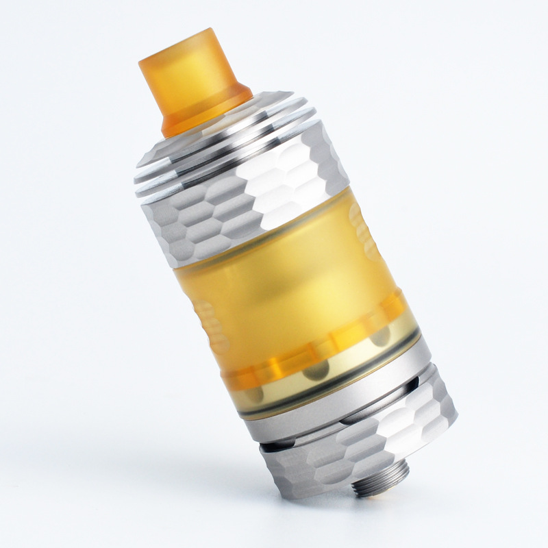 CYAN The End Style Atomizer 316SS 510 Thread 22mm RTA Rebuildable e Cigarette Vaporizer vs Hussar The End Style RTA Atomizer