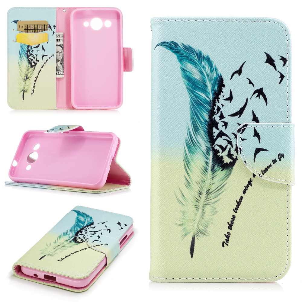 Flip Case for fundas Huawei Y3 2017 Case Cover for coque Huawei Y3 III 3 Case  Etui Fundas Telefoon