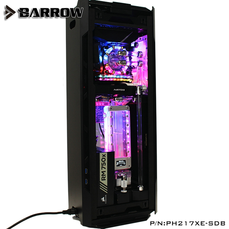 Barrow PH217XE-SDB Waterway Boards For Phanteks 217XE Case For Intel CPU Water Block & Single GPU Building