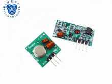 Free Shopping 1Lot= 1 pair (2pcs) 433Mhz RF transmitter and receiver Module link kit /ARM/MCU WL diy 433mhz wireless