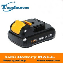 High Quality power tool Battery For Dewalt 12V 1.5Ah 1500mah MAX Li-ion DCB120 DCD710 DCF813 DCF815 DCF610