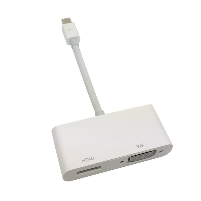 apple hdmi adapter. cy mini display port thunderbolt to vga \u0026 hdmi adapter cable 2 in1 for apple macbook air pro imac-in computer cables connectors from hdmi m