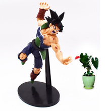 22 cm Anime Dragon Ball Burdock Super Saiyan PVC Action Figure Doll Collectible Model Toy Christmas Gift For Children [funny] original box 28cm game over watch azrael black death reaper ripper action figure collectible model doll toy kids gift