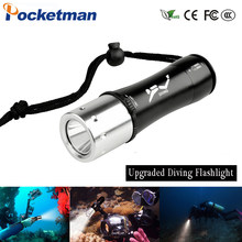 5000Lm XM-L T6 Waterproof Diving Flashlight Dive Underwater 80 Meter LED Torch Lamp Light Camping Lanterna use 18650 Battery(China)