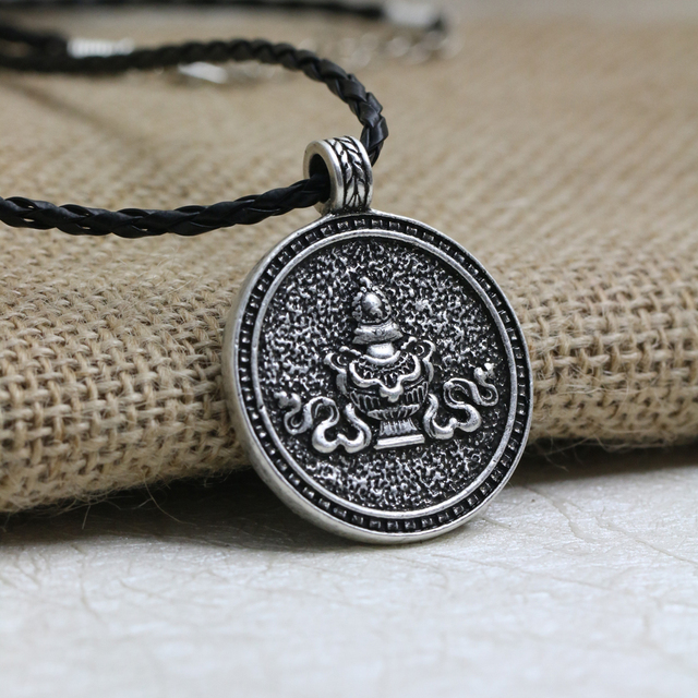 spiritual style in meditation age necklace flower fullxfull necklaces yoga hipster om new gypsy grande lotus products pendant il boho collections zen hippie