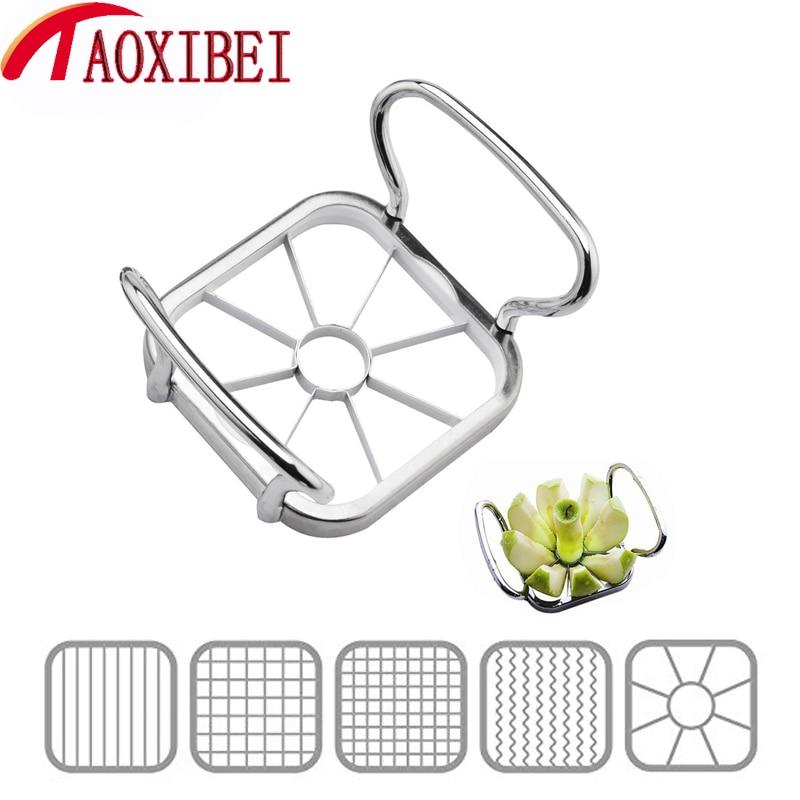 TAOXIBEI Stainless Steel Apple Cutter Slicer Vegetable
