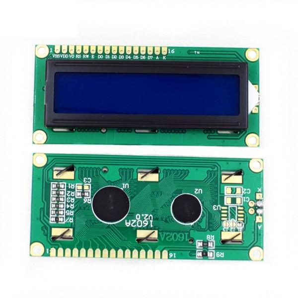 10PCS LCD1602 1602 LCD Module Blue / Yellow Green Screen 16x2 Character LCD  Display PCF8574T PCF8574 IIC I2C Interface 5V