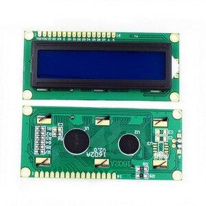 Image 3 - 10PCS LCD1602 1602 Modulo LCD Blu/Giallo Schermo Verde 16x2 Carattere Display LCD PCF8574T PCF8574 IIC i2C Interfaccia 5V