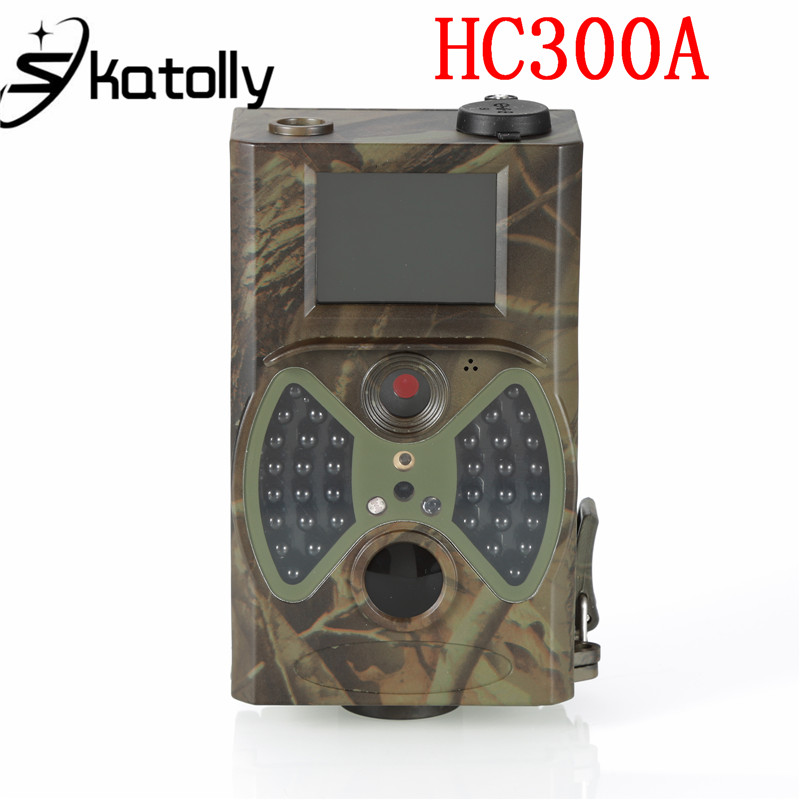 Skatolly HC-300A Hunting Camera Scouting HC300A 12MP HD 1080P VGA Digital Infrared Trail Wildlife 2 inch LCD Trail Camera 12mp trail camera gsm mms gprs sms scouting infrared wildlife hunting camera hd digital infrared hunting camera