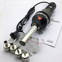 220V digital portable temperature control hot air gun 850 industrial baking gun hot air blower with 4 mouth blowing gun