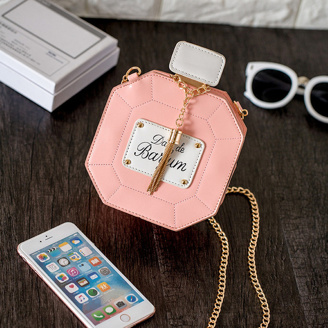 2016 новых женщин сумка сцепления сеть сумки флакон духов женщины вестник мешки кошелек вечерняя сумочка высокое качество сумка