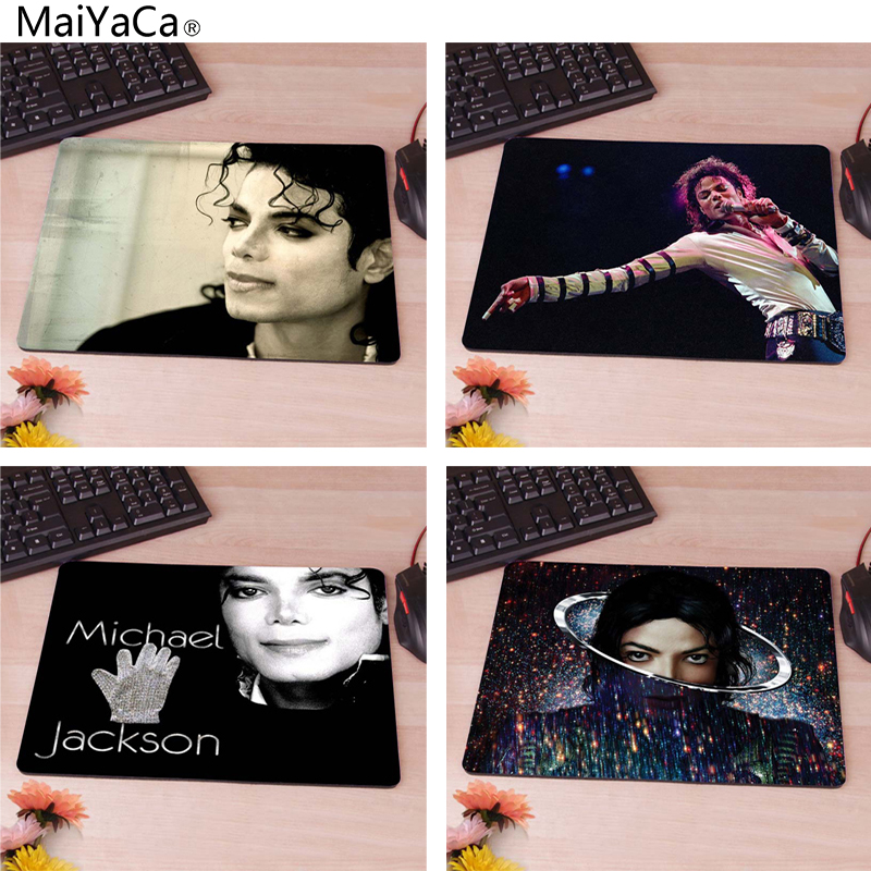 MaiYaCa Michael Jackson 03 Computer Mouse Pad Mousepads Decorate Your Desk Non-Skid Rubber Pad 220mmX180mmX2mm&250mmx290mmx2mm