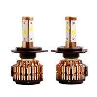 2PCS Super Bright H4 Halogen 55W White Fog Lamp 6000K 12V Car Halogen Bulb Xenon Dark