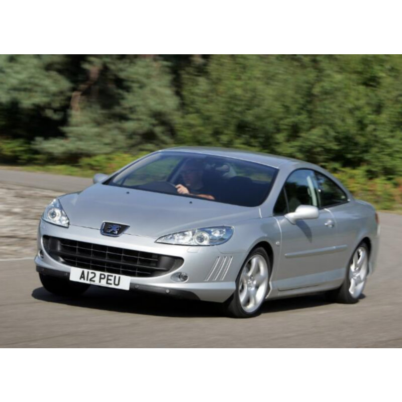 Fog lamps lights for <font><b>PEUGEOT</b></font> <font><b>407</b></font> <font><b>Coupe</b></font> (6C) Stop lamp Reverse Back up bulb Front Rear Turn Signal error free 2pc image