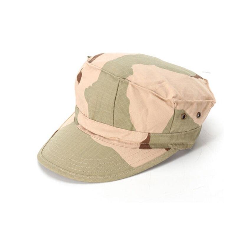 ACU CP пустыня цифровой камуфляж для лесистой местности Мультикам военные кепки Армейский Камуфляж шляпы морских пехотинцев Солнце Рыбалка Тактический Combat paintball шапки - Цвет: Desert Camo