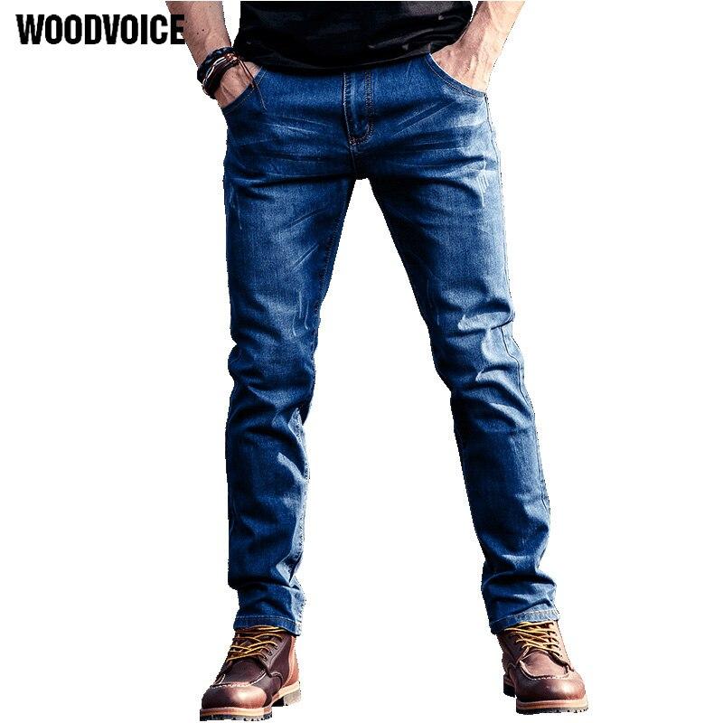 Jeans Men Casual Pants Elastic Motorcycle Jeans Slim Famous Brand Classic Biker Denim Long Stretch Hole Pants Jeans Trousers new 2016 famous brand men jeans male pants casual stretch slim straight long man trousers jeans for men denim pants y433
