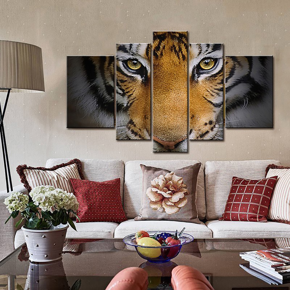 Art Painting Modular HD Modern Printed Canvas Posters 5