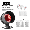 New Wireless Home security loud speaker alarm Big horn Security Alarm System  House Security Protection