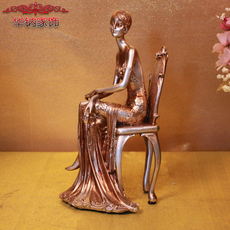 Time-limited Real European Classical Beauty Decoration Home Furnishing Characters Of Resin Crafts home decoration accessories